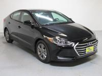 Black 2018 Hyundai Elantra SEL FWD 6-Speed Automatic