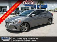 Boasts 37 Highway MPG and 28 City MPG! This Hyundai