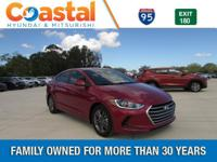 Red 2018 Hyundai Elantra SEL FWD 6-Speed Automatic with