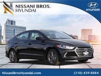 New Price! Phantom 2018 Hyundai Elantra SEL FWD 6-Speed