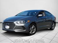 2018 Hyundai Elantra Grey SEL FWD 6-Speed Automatic