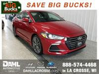 New Price! 2018 Hyundai Elantra Sport Scarlet Red