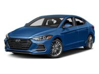 Factory MSRP: $26,415 2018 Hyundai Elantra Sport
