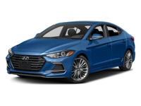 Factory MSRP: $26,335 2018 Hyundai Elantra Sport Black