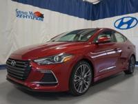 Red 2018 Hyundai Elantra Sport FWD 7-Speed Automatic