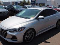 2018 Hyundai Elantra Sport 33/26 Highway/City MPG