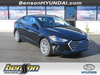 Black Diamond 2018 Hyundai Elantra Value Edition FWD