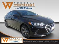 2018 Hyundai Elantra Value Edition Phantom Black 4D
