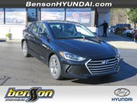 Phantom Black 2018 Hyundai Elantra Value Edition FWD