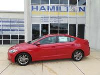 This 2018Hyundai ELANTRA Value Edition will sell fast!!