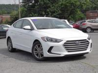 2018 Hyundai Elantra SEL 37/28 Highway/City MPG