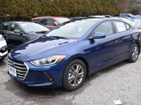 2018 Hyundai Elantra Value Edition FWD 6-Speed