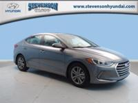 Sturdy and dependable, this 2018 Hyundai Elantra Value