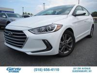 This new 2018 Hyundai Elantra in Queensbury, NY offers