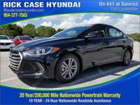 2018 Hyundai Elantra Value Edition  in Phantom Black