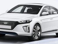 Electric 2018 Hyundai Ioniq Hybrid Blue FWD 6-Speed