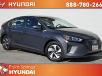 Gray 2018 Hyundai Ioniq Hybrid SEL FWD 6-Speed EcoShift