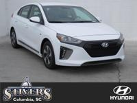 Ceramic White 2018 Hyundai Ioniq Hybrid SEL FWD 6-Speed