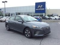 2018 Hyundai Ioniq Hybrid SEL 54/55 Highway/City MPG