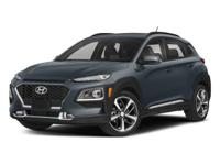 Safe and reliable, this 2018 Hyundai Kona Limited lets