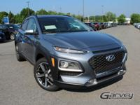 New 2018 Hyundai Kona Limited! This vehicle has a 1.6L