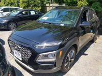 Ultra Black 2018 Hyundai Kona Limited AWD 7-Speed