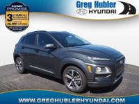 Thunder Gray 2018 Hyundai Kona Limited AWD 7-Speed