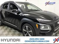 2018 Hyundai Kona Limited 29/26 Highway/City MPG  All