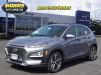 Silver 2018 Hyundai Kona Limited H21376 AWD 7-Speed