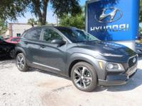 Recent Arrival! 2018 Hyundai Kona Limited Thunder Gray