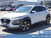 Sturdy and dependable, this 2018 Hyundai Kona Limited