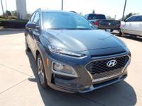 Thunder Gray 2018 Hyundai Kona Limited FWD 7-Speed