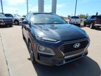 Gray 2018 Hyundai Kona Limited FWD 7-Speed Automatic I4