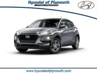 White 2018 Hyundai Kona SE I4 AWD 3.648 Axle Ratio,