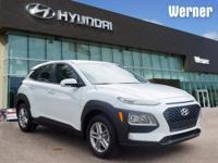 White 2018 Hyundai Kona SE FWD 6-Speed Automatic I4