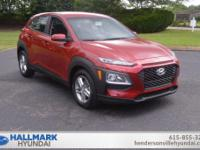 Pulse Red 2018 Hyundai Kona SE FWD Automatic 2.0L