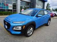 Surf Blue 2018 Hyundai Kona SE FWD 6-Speed Automatic I4