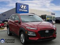 2018 Hyundai Kona SEL 30/25 Highway/City MPG  Options: