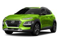 2018 Hyundai Kona SEL 33/27 Highway/City MPGAs your