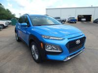 Surf Blue 2018 Hyundai Kona SEL FWD 6-Speed Automatic