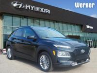 Black 2018 Hyundai Kona SEL FWD 6-Speed Automatic I4