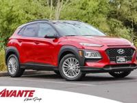 Pulse Red 2018 Hyundai Kona SEL FWD Automatic 2.0L
