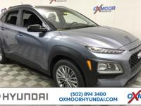 2018 Hyundai Kona SEL 33/27 Highway/City MPG  All