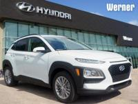 White 2018 Hyundai Kona SEL FWD 6-Speed Automatic I4