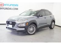 2018 Hyundai Kona SEL 33/27 Highway/City MPG  Van