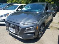 Thunder Gray 2018 Hyundai Kona Ultimate AWD 7-Speed