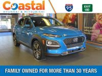 Surf Blue 2018 Hyundai Kona Ultimate FWD 7-Speed
