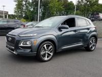 Thunder Gray 2018 Hyundai Kona Ultimate FWD 7-Speed