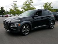 Ultra Black 2018 Hyundai Kona Ultimate FWD 7-Speed