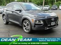 The first-ever Hyundai Kona is fully equipped and